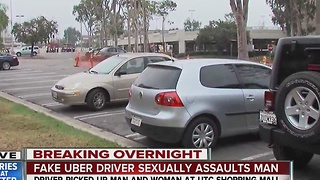 Man posing as Uber driver in Maserati accused of sexually assaulting passenger - Video