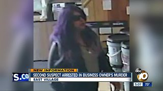 Woman wearing purple wig arrested in murder case