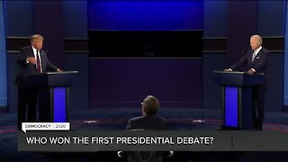 Breaking down the first presidential debate