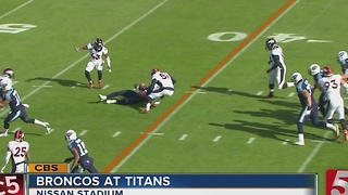 Titans Run To Early Lead, Hold Off Broncos 13-10 - Video