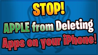 Stop Apple from Deleting Your Parler - Updated
