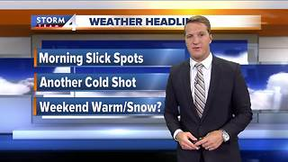 Slick commute expected Wednesday - Video