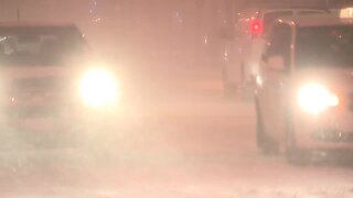Blizzard on East 9th Street in Cleveland