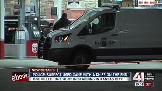 Stabbing in KCMO leaves one dead, one injured - Video