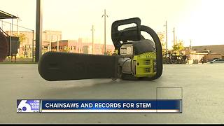 Boise man breaks his 24th world record for S.T.E.M education - Video