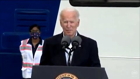 Biden Gets Tongue Twisted 'What Am I Doing Here'; 'I'm Going to Lose Track Here'
