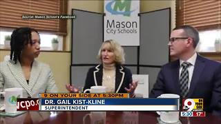 Mason school leaders respond to teacher's lynching comment - Video