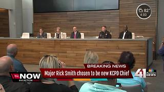 KCPD names new chief of police - Video