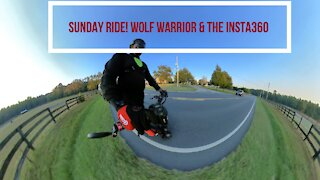 Sunday Ride on My Kaabo Wolf Warrior Electric Scooter 10-11-2020