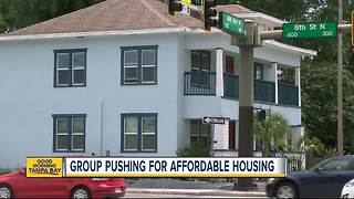 Group pushing for affordable housing in Pinellas County