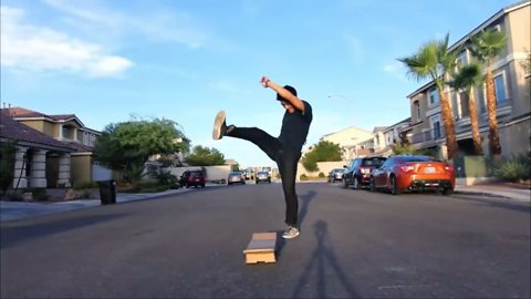 Who needs Hoverboards when you got CARDBOARDS!?