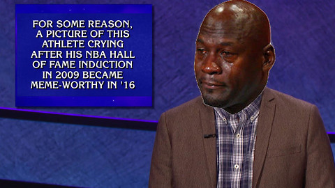 Crying Jordan Becomes a Jeopardy Question