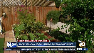 Local vacation rentals feeling the economic impact