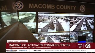Macomb County activates command center