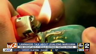 Lawmakers talk about legalizing marijuana