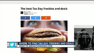 The best Tax Day freebies and deals - Video