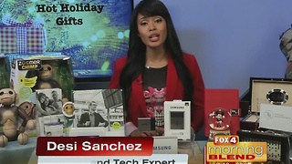 Holiday Tech Gifts with Desi Sanchez 11/17/16 - Video