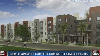 New apartment complex coming to Tampa Heights - Video
