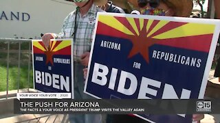 The push for Arizona in the 2020 presidential election