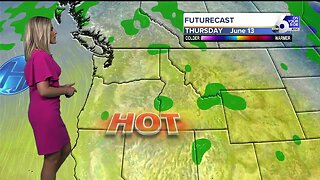 A warming trend leads to a HOT week