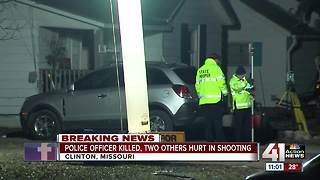 Investigation continues in deadly officer shooting - Video
