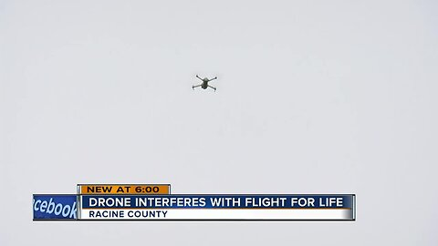 Drone interferes with Flight For Life response