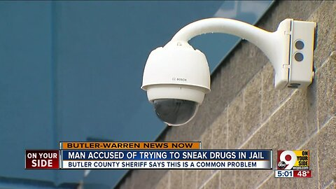 Man accused of sneaking drugs into Butler County jail