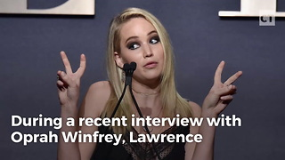 Jennifer Lawrence Has A Plan If She Ever Meets Trump - Video