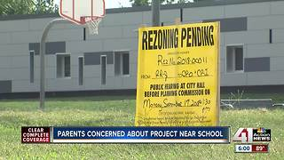 Some parents concerned about project near school - Video