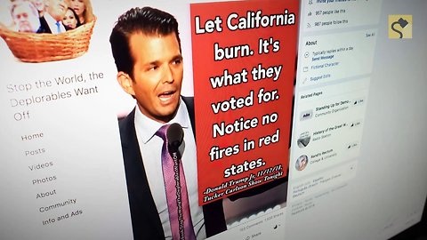 Did Donald Trump Jr. Say 'Let California Burn' Because They Voted for Democrats?