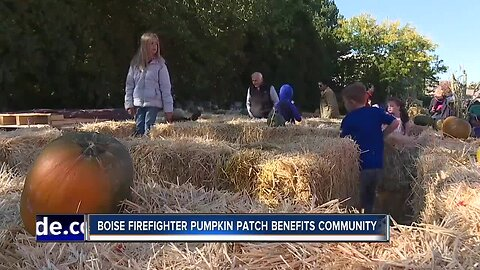 Boise Fire Pumpkin Patch