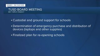 TUSD board meeting details
