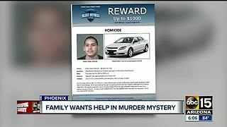 Phoenix family asking for help in murder mystery - Video