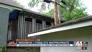 Man battles Kansas City over neighbor's new building