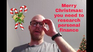 Merry Christmas: you need to research personal finance