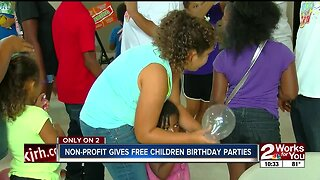 Rock Your Party Gives Free Children Birthday Parties