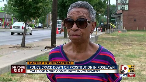 Police crack down on prostitution in Roselawn