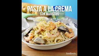 Creamy Pasta with Seafood