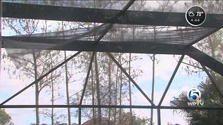 Homeowners having trouble getting hurricane damage repaired - Video