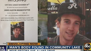 Missing man found dead in Chandler community lake - Video