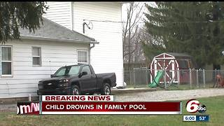 3-year-old boy drowns in pool at home on Indy's south side - Video