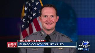 Deputy dead, 3 officers and 1 civilian injured after shooting in Colorado Springs - Video