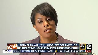 Stephanie Rawlings-Blake joins global law firm Dentons - Video