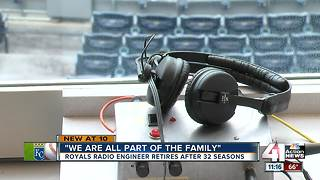 Man behind Royals radio says goodbye after 32 seasons