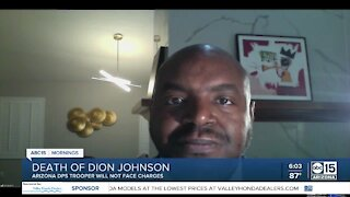 Attorney for Dion Johnson family talks decision to not charge trooper