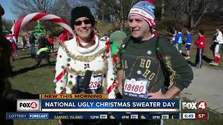 Friday is National Ugly Christmas Sweater Day - Video