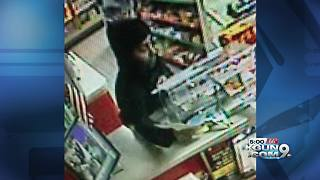 Deputies search for suspect after armed robberies - Video
