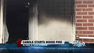 Crews battle westside house fire
