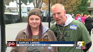 Maslow's Army provides help to CIncinnati's needy - Video