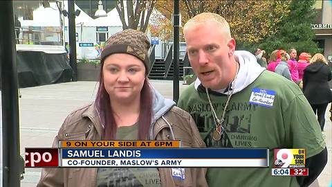 Maslow's Army provides help to CIncinnati's needy